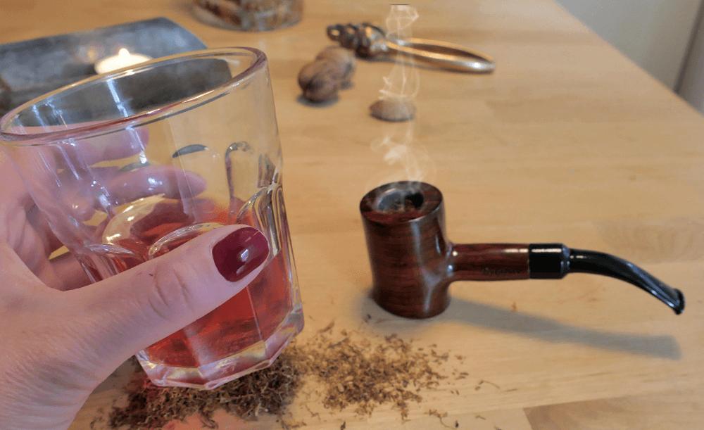 Ako fajčiť fajku - fajka a vhodný nápoj