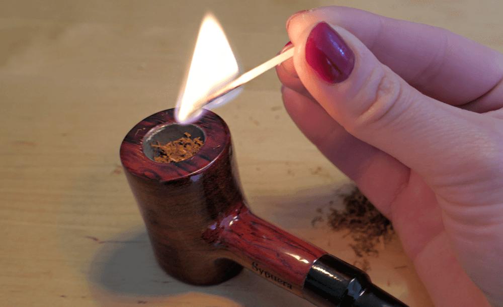 Ako fajčiť fajku - zapaľovanie fajky