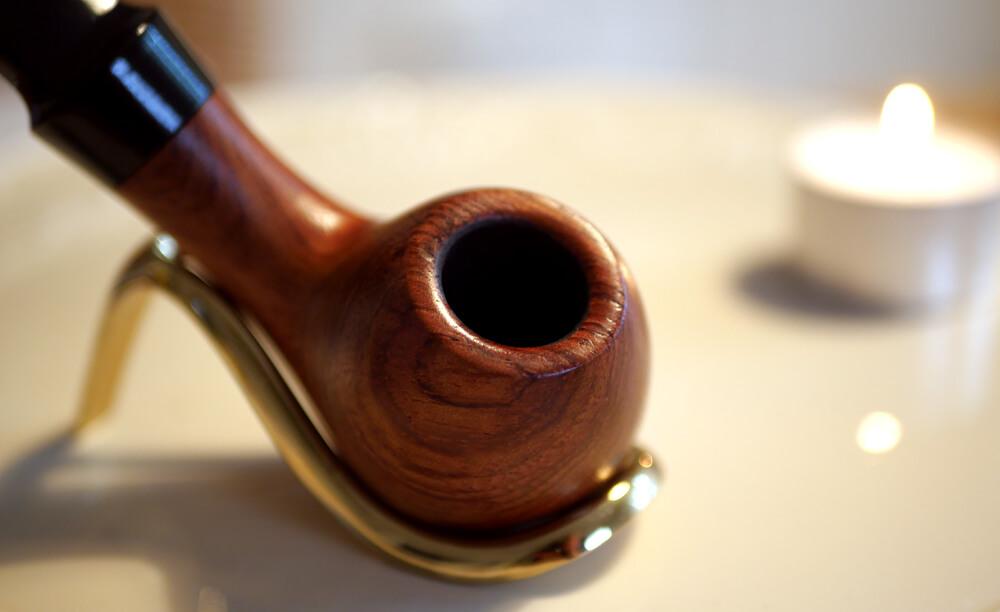 Fajka na tabak značky Sypuera - detailný pohľad na hlavičku